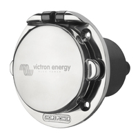 Victron Power Inlet 16A stainless steel with cover