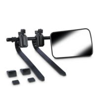 Dometic SMF102 Flat Towing Mirror, Pair