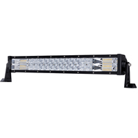 22inch Osram LED Light Bar Flood Spot Triple Row Cree Offroad Driving 4WD 4x4