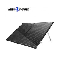Atem Power 18V 160W Folding Solar Panel with Solar Charge Controller