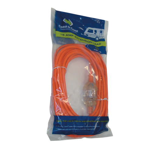 COAST 10M 15AMP HEAVY DUTY EXTENSION LEAD