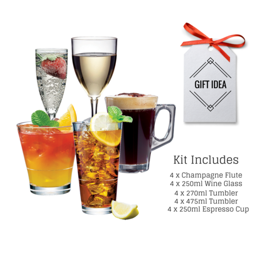 Drinkware Essentials Set